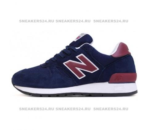 Кроссовки New Balance 670 Navy/Cherry