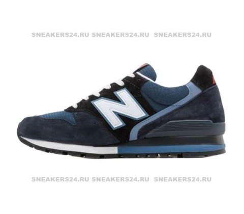 Кроссовки New Balance 996 Blue/Black/White