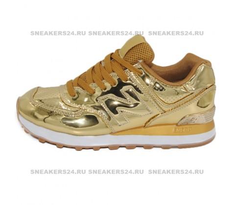 Кроссовки New Balance 574 Gold Lacquer