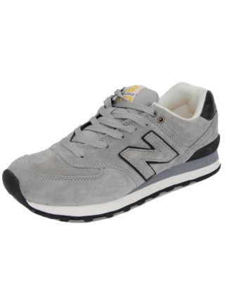 Кроссовки New Balance 574 Light Gray/Black
