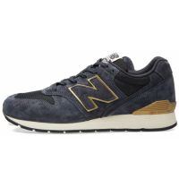 Кроссовки New Balance 996 Dark/Blue/Gold
