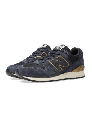 Кроссовки New Balance 996 Dark/Blue/Gold