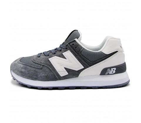 Кроссовки New Balance 574 Gray/White