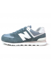 Кроссовки New Balance 574 Azure/White
