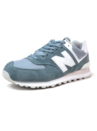Кроссовки New Balance 574 Azure/White