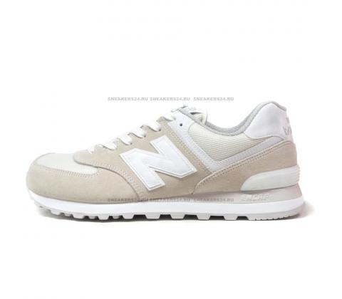 Кроссовки New Balance 574 Beige/White