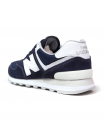 Кроссовки New Balance 574 Dark Blue/White