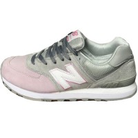 Кроссовки New Balance 574 Light Pink/Light Grey