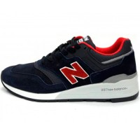 Кроссовки New Balance 997 Giants Dark/Blue/Red