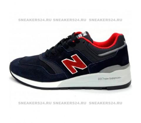 Кроссовки New Balance 997 Giants Dark/Blue/Red