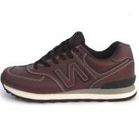 Кроссовки New Balance 574 Leather Brown