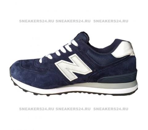 Кроссовки New Balance 574 Blue/Gray