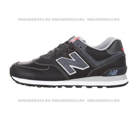 Кроссовки New Balance 574 Black/Gray