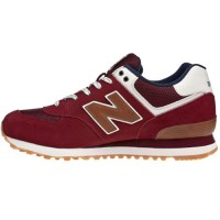 Кроссовки New Balance 574 Burgundy/Brown