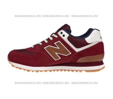 Кроссовки New Balance 574 Burgundy/Brown