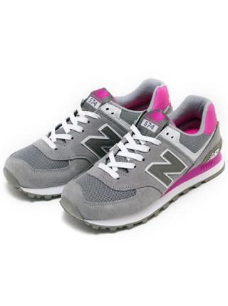 Кроссовки New Balance 574 Pink/Grey