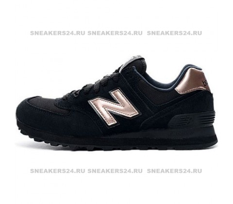 Кроссовки New Balance 574 Black/Bronze