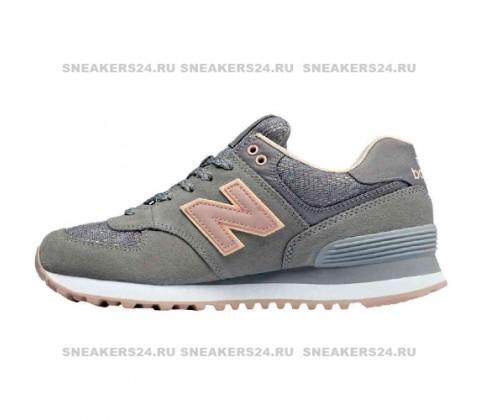 Кроссовки New Balance 574 Gray/Light Blue