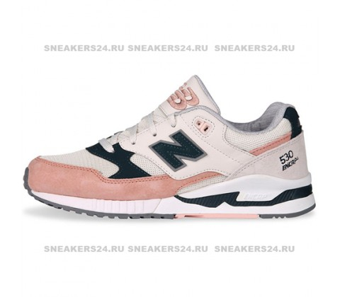 Кроссовки New Balance 530 White/Light Pink