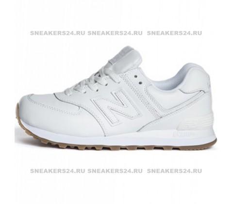 Кроссовки New Balance 574 All White