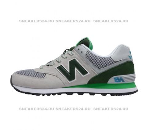 Кроссовки New Balance 574 Gray/Green