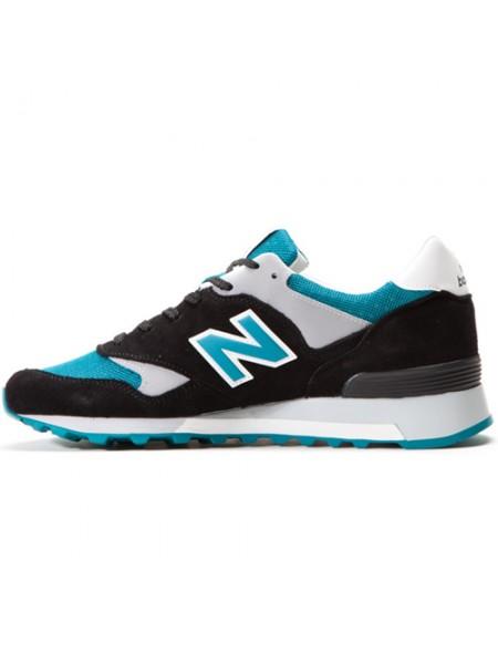 Кроссовки New Balance 577 Black/Light Blue