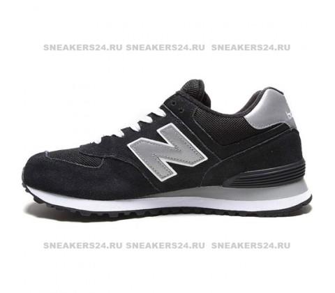 Кроссовки New Balance 574 Black/Grey