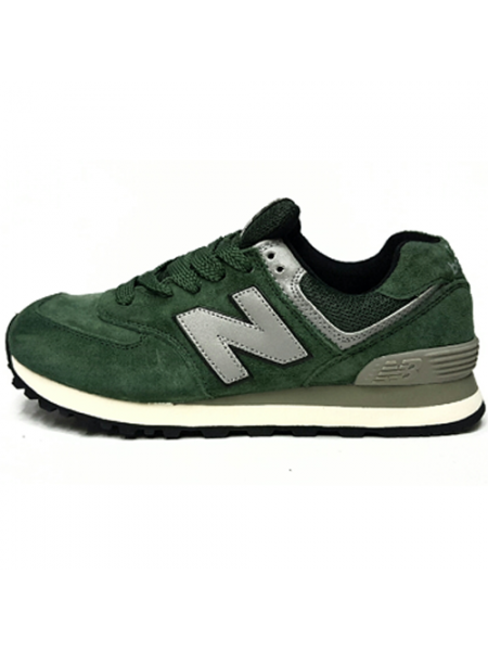 Кроссовки New Balance 574 Green (без сетки)