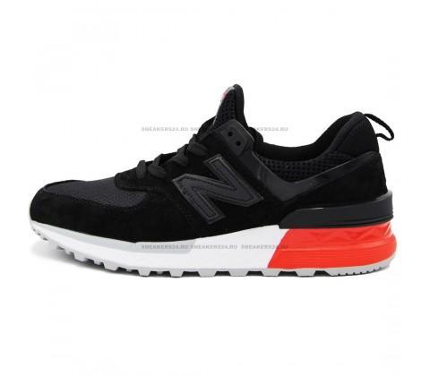 Кроссовки New Balance 574 S Black/White