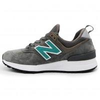 Кроссовки New Balance 574 S Dark Gray/Green