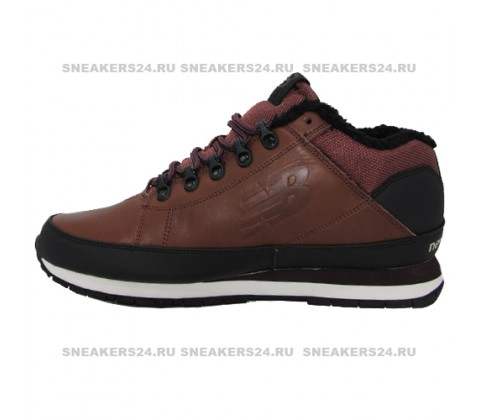 Кроссовки New Balance 754 Dark Brown With Fur
