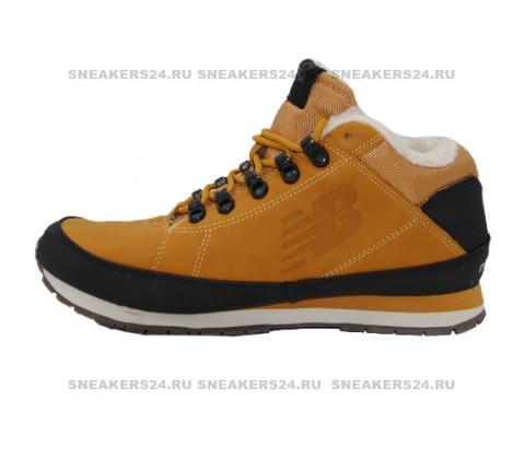 Кроссовки New Balance 754 Yellow With Fur