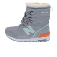 Кроссовки New Balance Winter Sport Gray/Mint With Fur