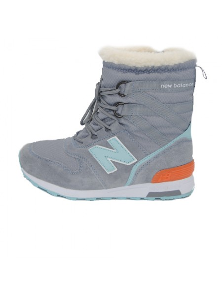 Кроссовки New Balance Winter Sport Gray/Mint With Fur