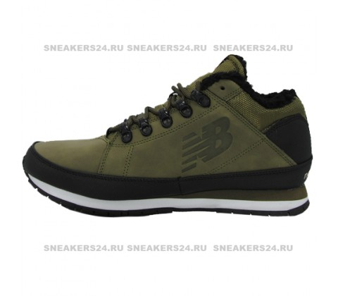 Кроссовки New Balance 754 Dark Green With Fur