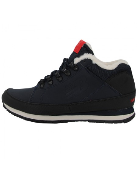 Кроссовки New Balance 754 Dark Blue With Fur