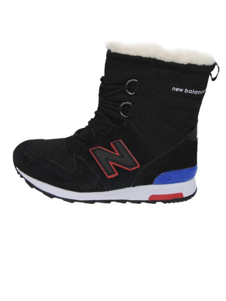 Кроссовки New Balance Winter Sport Black With Fur