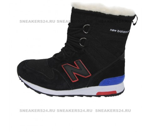 Кроссовки New Balance Winter Sport Black With Fur