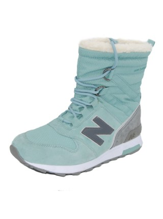 Кроссовки New Balance Winter Sport Turquoise/Grey With Fur