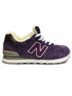 Кроссовки New Balance 574 Rich Purple With Fur