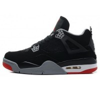 Кроссовки Nike Air Jordan 4 Retro Black Cement