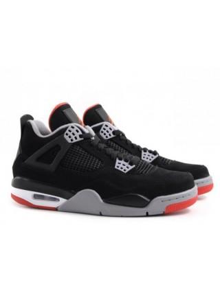 Кроссовки Nike Air Jordan 4 Retro Black Cement