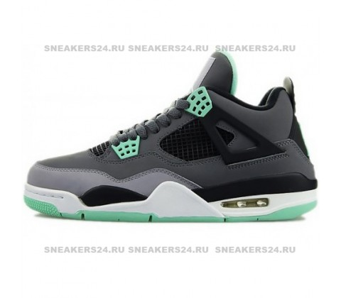 Кроссовки Nike Air Jordan 4 Retro Green Glow