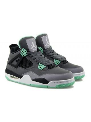 Кроссовки Nike Air Jordan 4 Retro Green Glow