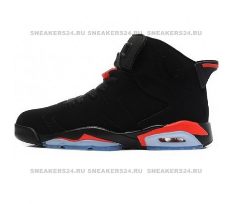 Кроссовки Nike Air Jordan 6 Retro Black/Red