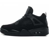 Кроссовки Nike Air Jordan 4 Retro All Black