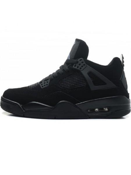 Кроссовки Nike Air Jordan 4 Retro All Black