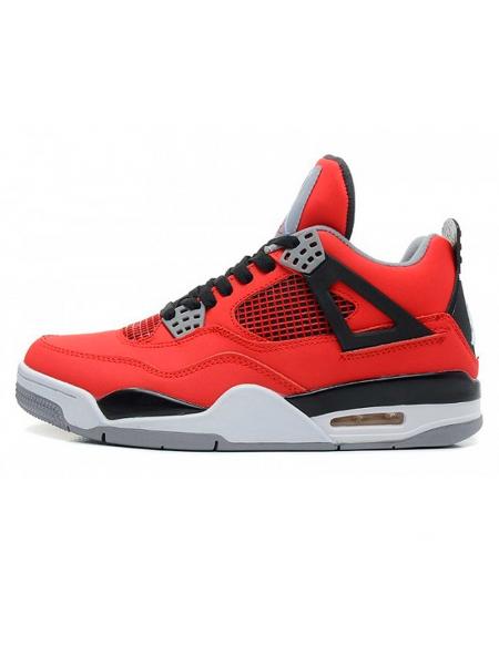 Кроссовки Nike Air Jordan IV (4) Retro Toro Bravo/Fire Red
