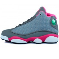 Кроссовки Nike Air Jordan XIII (13) Retro Grey/Pink/White