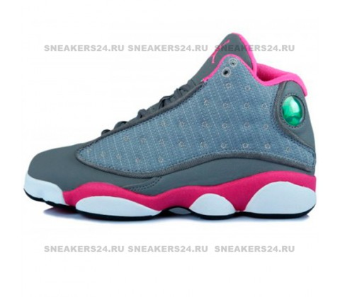 Кроссовки Nike Air Jordan XIII (13) Retro Grey/Pink/White